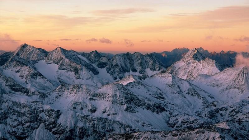 Abendstimmung_Alpen