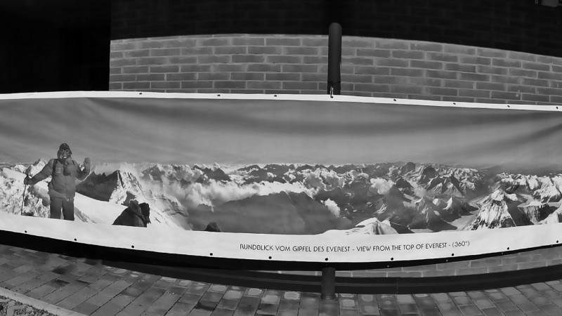 Diemberger-Panorama Everest summit 360° 1978 n.5
