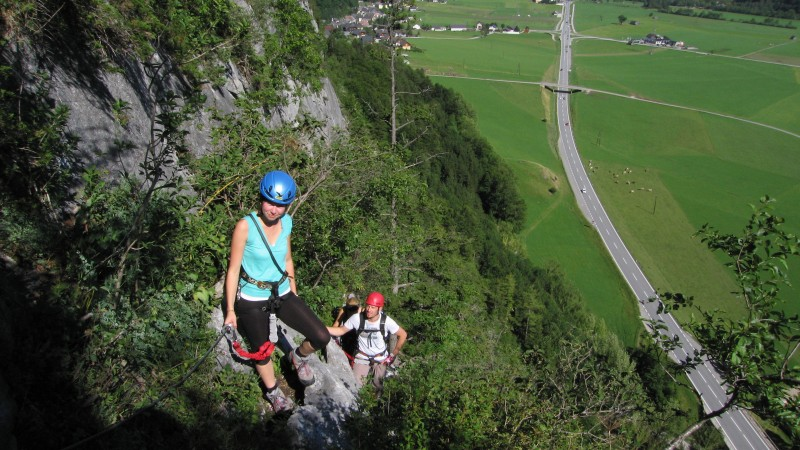 Pürgger Klettersteig 02