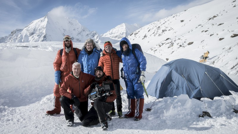 ServusTV, Bergwelten, 40 Jahre Mount Everest, Reenactment Dreh Südtirol.