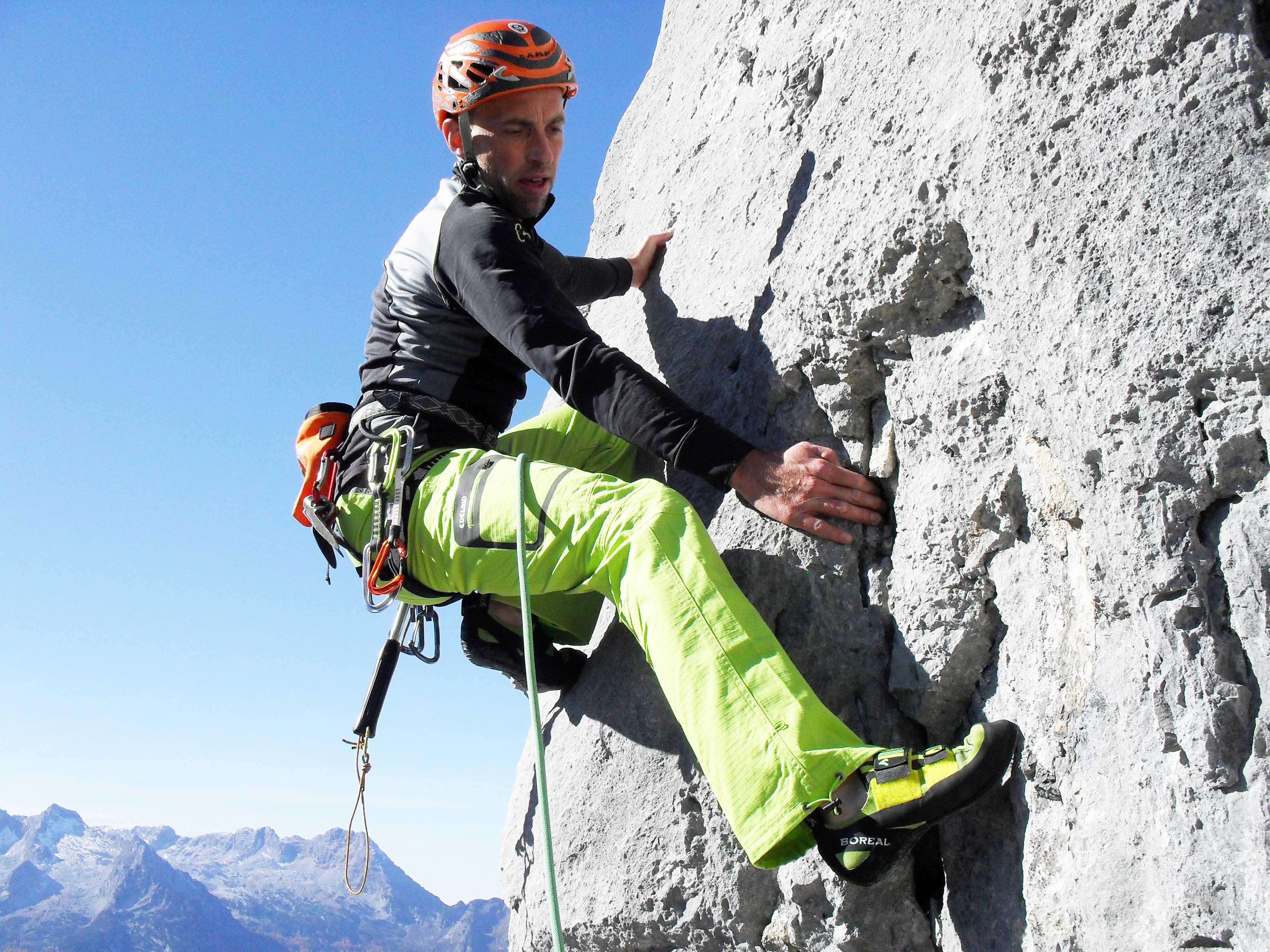 Birnbacher Erstbegehung in den Berchtesgadner Alpen