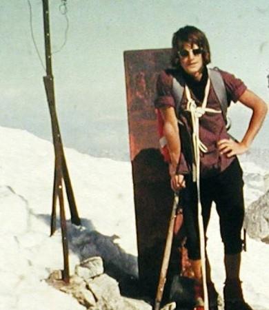 früher pickel der alpinisten